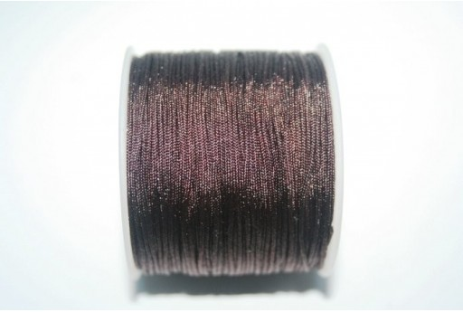 Filo Nylon Intrecciato Marrone 1mm - 35mt