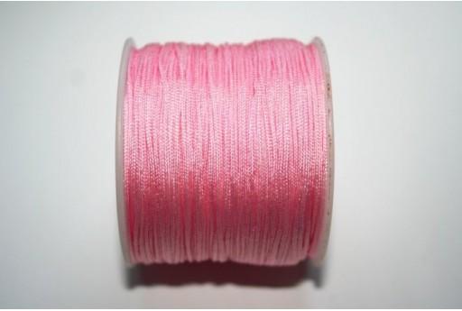 Filo Nylon Intrecciato Rosa 1mm - 35mt
