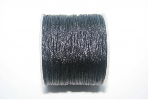 Black Nylon Thread 1mm - 35m