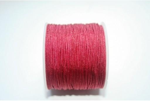 Filo Nylon Intrecciato Bordeaux 1mm - 35mt