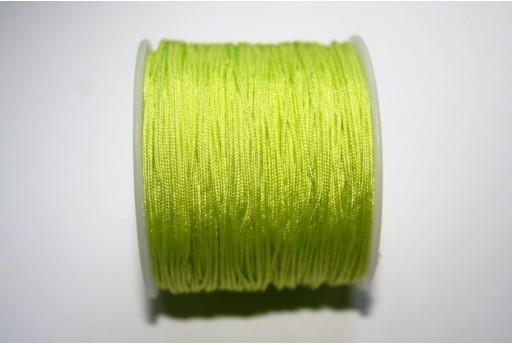 Filo Nylon Intrecciato Giallo Limone 1mm - 35mt