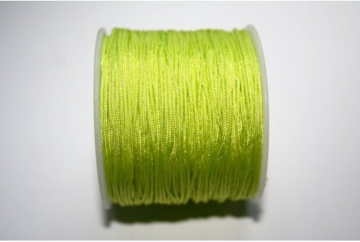 Neon Yellow Nylon Thread 1mm - 35m