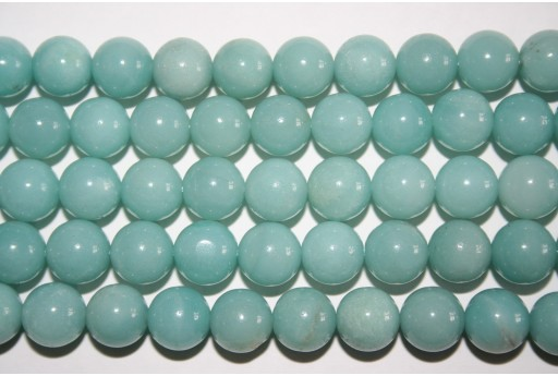 Amazonite Beads Sphere 10mm - 3pz
