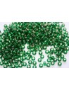Perline Miyuki Round Rocailles Silver-Lined Green 6/0 - 10gr