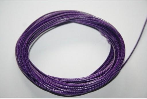 Filo Poliestere Cerato Viola 1mm, 12mt. MIN125C