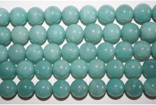 Amazonite Beads Sphere 12mm - 2pz
