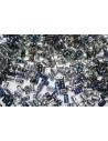 Rulla Beads 3x5mm, 10gr., Crystal-Heliotrope