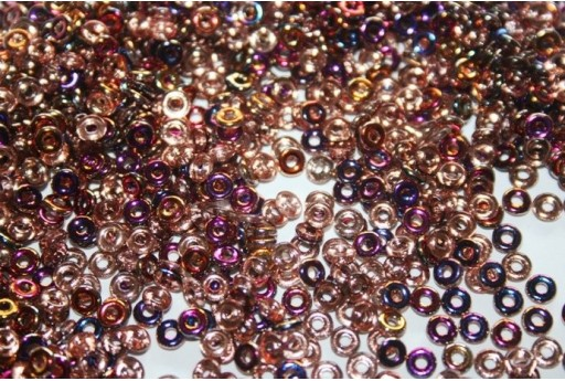Perline O Bead 1x3,8mm, 5gr, Sliperit-Crystal  Col.29500CR