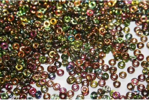 Perline O Beads Magic-Line Green 1x3,8mm - 5gr