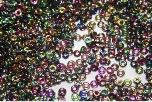 Perline O Bead 1x3,8mm, 5gr, Magic-Line Col.95500CR