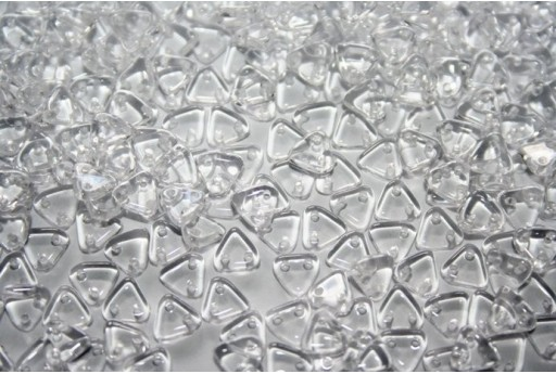Triangle Beads Crystal 6mm - 8gr