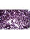 Triangle Beads Pastel Purple 6mm - 8gr