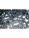 Triangle Beads Pastel Hematite 6mm - 8gr