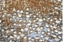 Drops Beads 4x6mm, 10gr, Luster Transparent Champagne