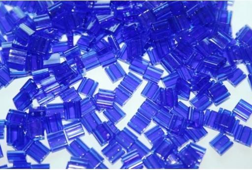 5gr. Perline Tila Miyuki 5mm Transparent Rainbow Crystal AB Col.TL250