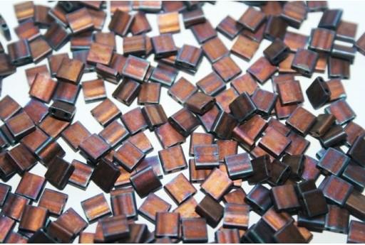 Miyuki Tila Beads Metallic Copper 5mm - 5gr