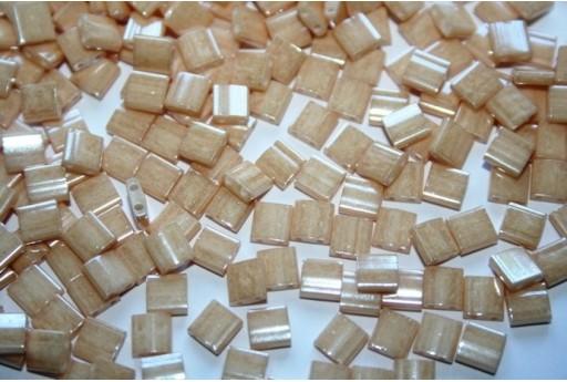 Perline Miyuki Tila Light Caramel Ceylon 5mm - 5gr