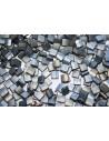 Perline Miyuki Tila Matte Metallic Silver Grey 5mm - 5gr
