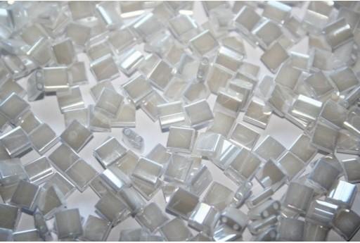 Miyuki Tila Beads White Pearl 5mm - 5gr