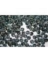 Lentil Beads 6mm, 50Pz., Jet-Picasso