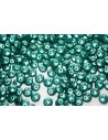 Lentil Beads 6mm, 50Pz., Pastel Dark Green