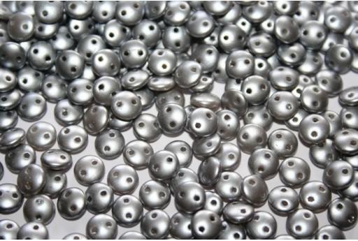 50 Perline Lentil CzechMates 6mm Crystal Col.00030