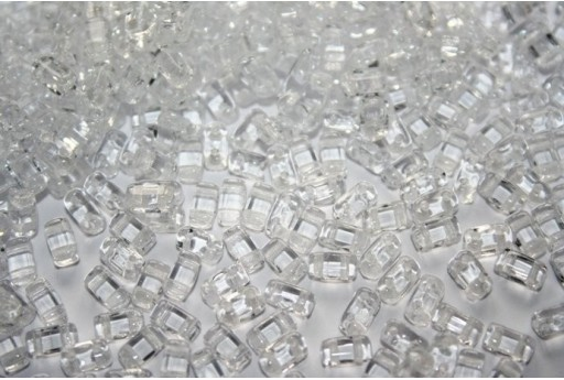 Perline Bricks Crystal 3x6mm - 50pz