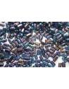 Bricks Beads Iris-Blue 3x6mm - 50pz