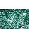 Perline Bricks CzechMates 3x6mm, 50Pz., Dark Green Pearl Col.25027AL