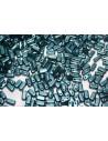 50 Perline Bricks CzechMates 3x6mm Crystal Col.00030