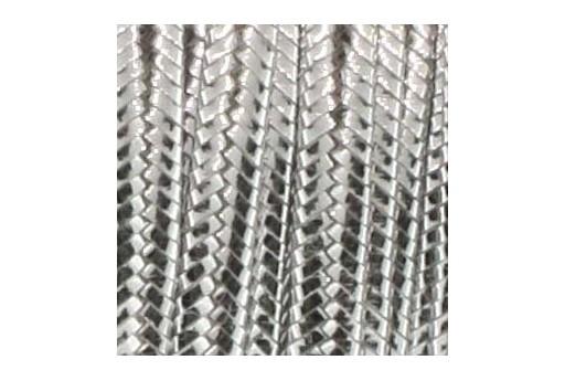 Cordoncino Soutache Silver 3mm - 5mt