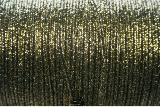 Cordoncino Soutache Metallic Gold 3mm - 5mt