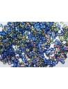 Perline O Beads Vitrail Sapphire 1x3,8mm - 5gr