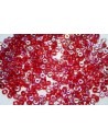Perline O Beads Red AB 1x3,8mm - 5gr