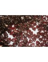 Perline CzechMates Triangle 6mm, 8gr., Siam Ruby Col.LJ90080