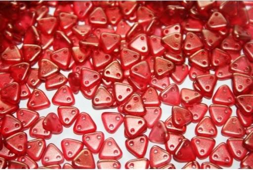 Triangle Beads Halo-Cardinal 6mm - 8gr