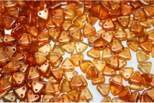 Triangle Beads Halo-Sandalwood 6mm - 8gr