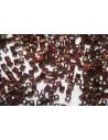 Miyuki Cube Beads Silver Lined Brown 4x4mm - 10gr