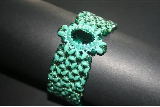 Kit Bracciale Smeraldo
