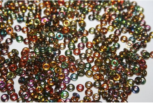 Perline O Bead 1x3,8mm, 5gr, Magic Copper Col.95300