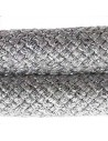 Climbing Cord Metal Silver 10mm - 1mt