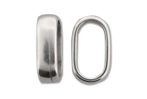 Climbing 2 Strand Silver Spacer Connector 14x23mm - 1pc