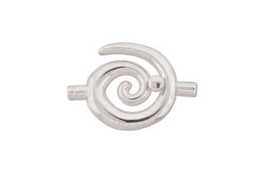 Chiusura Magnetica con Strass AB Ovale 20X14mm MIN93D