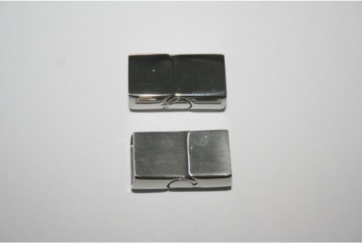 Steel Magnetic Rectangle Clasp 23X13mm