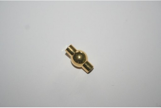 Gold Plated Magnetic Clasp 17X9mm MIN93N