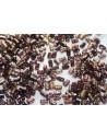 Perline Rulla 3x5mm, 10gr., Copper-Amethyst Col.C20060