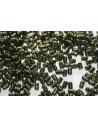 Perline Rulla 3x5mm, 10gr., Luster-Metallic Olivine