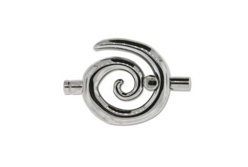 Chiusura Spirale Colore Nero 50x34mm
