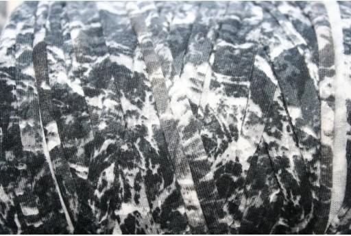 Fettuccia Lycra Foresta Grigio/Bianca, 1,5mt., FY01