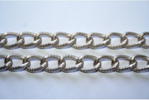 Aluminium Chain 13x8,5mm Grey - 1m